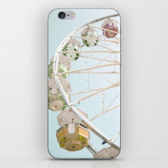 Pastel Ferris Wheel  iPhone Skin