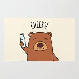 Cheers, Bear! Rug