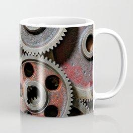 Group of old steel cogwheels Coffee Mug