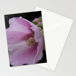 blooming on black -05- Stationery Cards