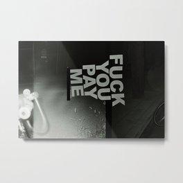FYPM Metal Print