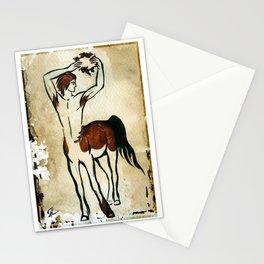 Centaur with a wreath Stationery Cards