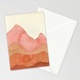 Orange Mountains Stationery Cards
