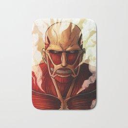 Colossal titan artwork Bath Mat