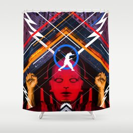 Visions of the Future :: Metropolis Shower Curtain