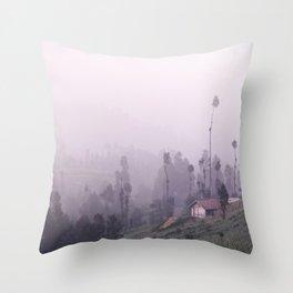 Mt Bromo, Java, Indonesia Throw Pillow