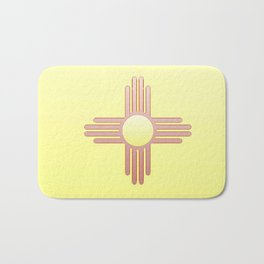Flag of new mexico  -with color gradient Bath Mat