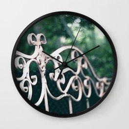 Bench Wall Clock