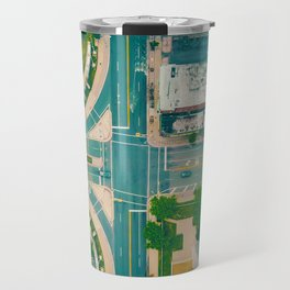 The City From Above (Color) Travel Mug