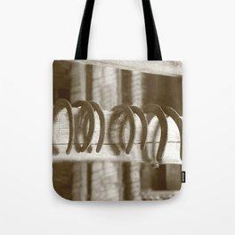 Horseshoes Tote Bag