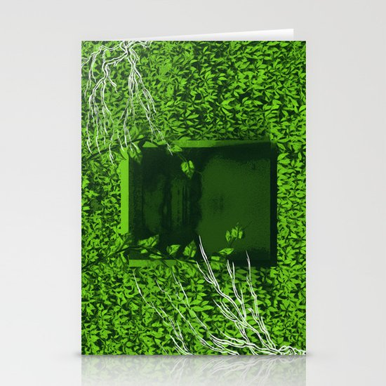 """""""Overgrown"""" by Justin Hopkins Stationery Cards"""