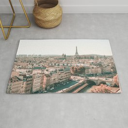 Paris City Overview Rug