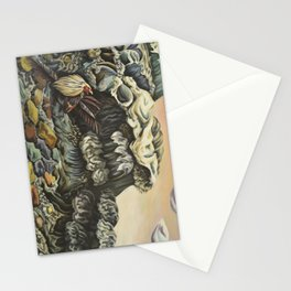 Birth of a Reoccurring Nightmare Stationery Cards