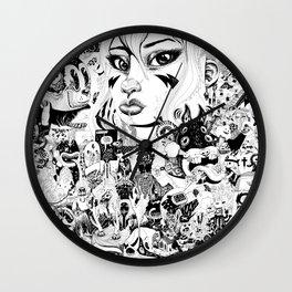 666 Wall Clock