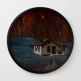 The Surface of Solitude-Hardship Wall Clock