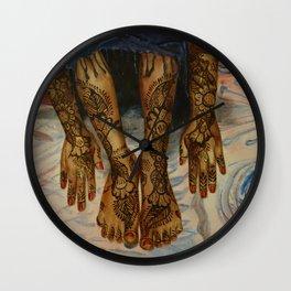 Swahili Wall Clock