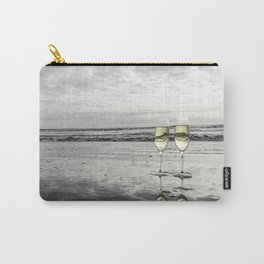 Champagne Cheers by the Ocean Carry-All Pouch