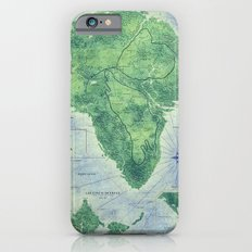 Jurassic Park - Map - Colour Slim Case iPhone 6s