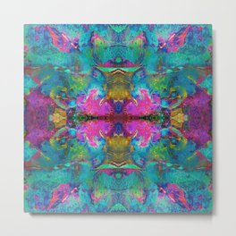Mandala Kaleidoscope 514 Metal Print