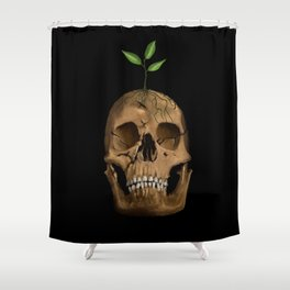 Life from Death Shower Curtain