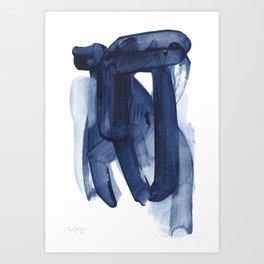 Indigo #8 Art Print