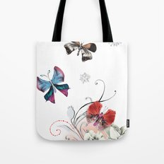 Butterfly Spring Tote Bag