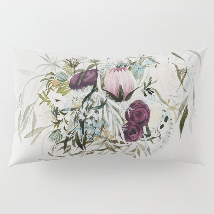 Rustic and Free Bouquet Pillow Sham