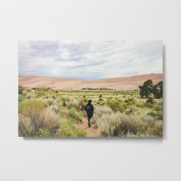 Great Sand Dunes National Park - Colorado Metal Print