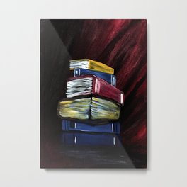 Books Of Knowledge Metal Print