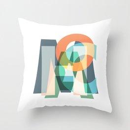 MACHO Throw Pillow