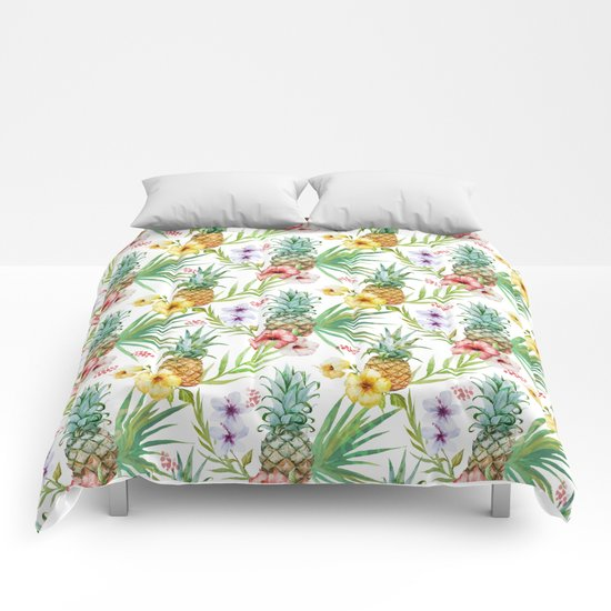 Tropicana yeah Comforters