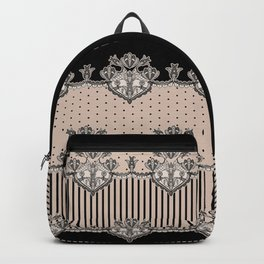 Dakota Black Lace Backpack