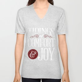 Tidings of Comfort & Joy Unisex V-Neck