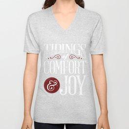 Tidings of Comfort & Joy Unisex V-Neck