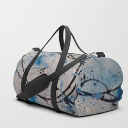 Blue Carnival Duffle Bag