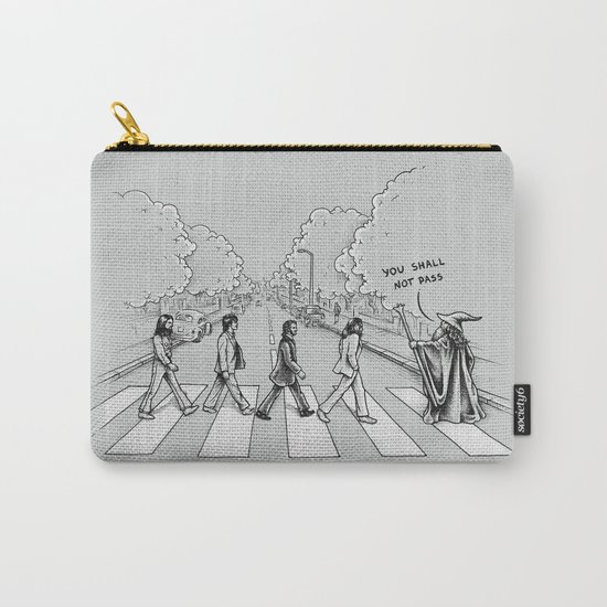 Here comes the Wizard Carry-All Pouch