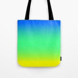 Tropical Horizon Ombre Tote Bag