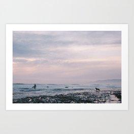 Sands Beach, Isla Vista, CA. Art Print