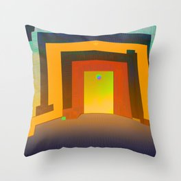 Photosynthetic Habitacle Throw Pillow
