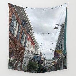 Hidden Alleyway Wall Tapestry