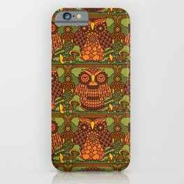A Parliament of Owls iPhone Case