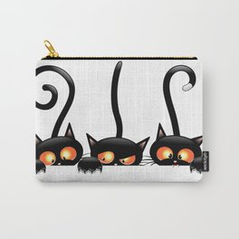 Cool hidden cats design Carry-All Pouch