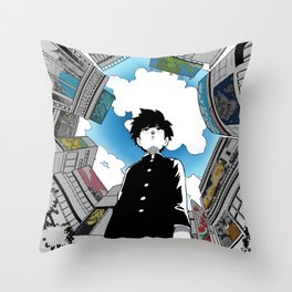 Shigeo Kageyama v.4 Throw Pillow