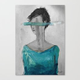m. wonderwall Canvas Print