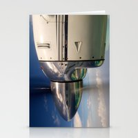 mirror Stationery Cards featuring Mirror by Rafael Andres Badell Grau