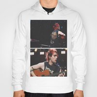 5 seconds of summer Hoodies featuring 5 Seconds of Summer - Michael by Fan_Girl_Designs