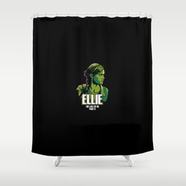 The Last of Us 2 - Ellie Shower Curtain