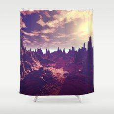 Arizona Canyon Sunshine Shower Curtain