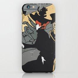 After Lautrec - Divan Japonais iPhone Case