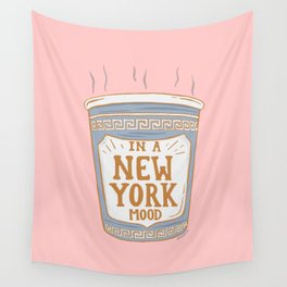 NEW YORK MOOD Wall Tapestry